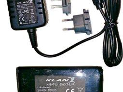 KLAN Akut + Verkkovirtalaturi 12 Volt 6Ah 0027e89087